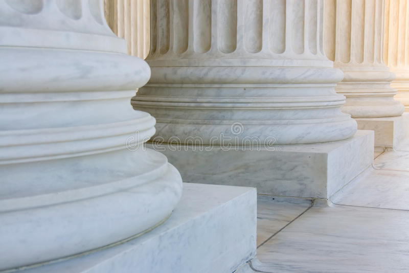 Download The Row Of Classiclal Columns Stock Photo - Image: 12364990