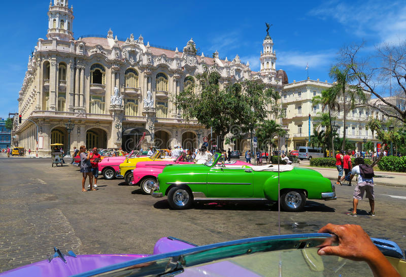 Beautiful Chevrolet In Old Havana Editorial Photography