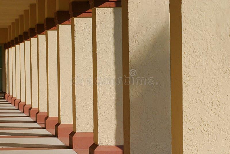 Download Row of Columns stock photo. Image of halls, hall, walkways - 38192