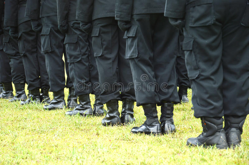 Download Row feet stock photo. Image of marines, people, boots - 38215002