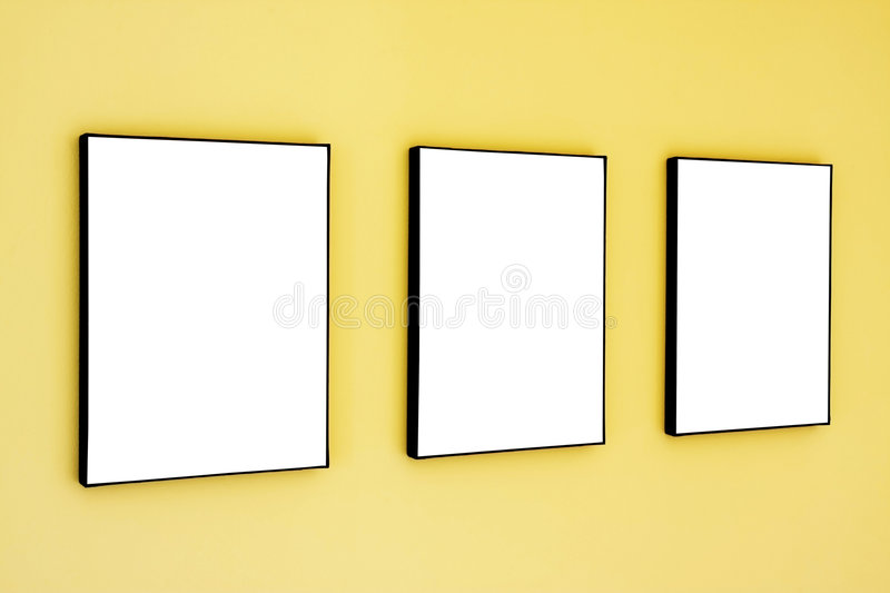 Download Row of frames stock image. Image of pictures, decoration - 4902077