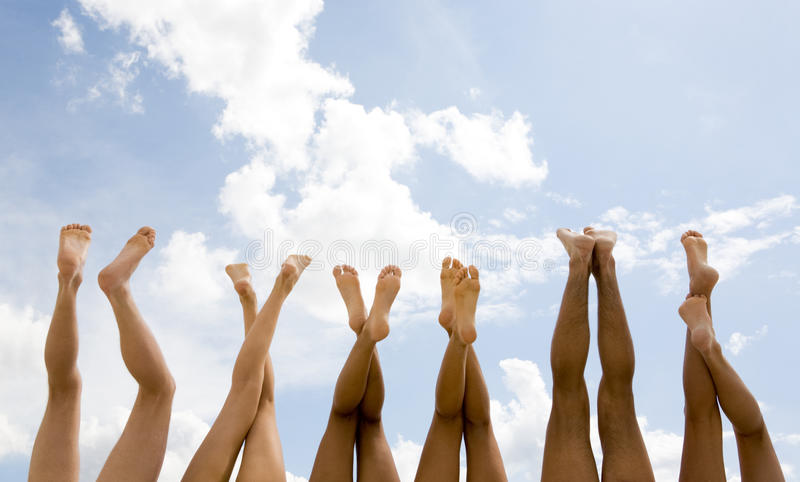 Download Row of legs stock photo. Image of care, group, outside - 9440810