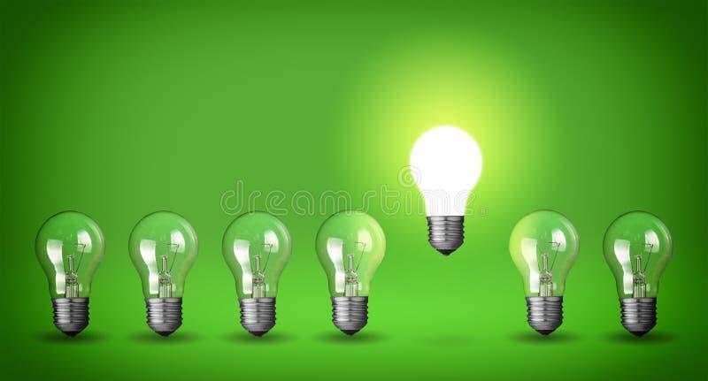 Download Row of light bulbs stock image. Image of evolution, bulb - 37551751