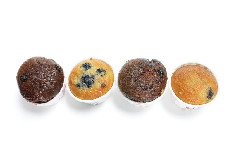 Download Row of Mini Muffins stock image. Image of cakes, isolated - 9870729