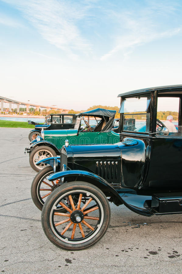 Download Row Of Model T Cars Stock Images - Image: 20960344