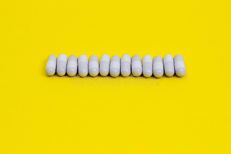 Row of pills