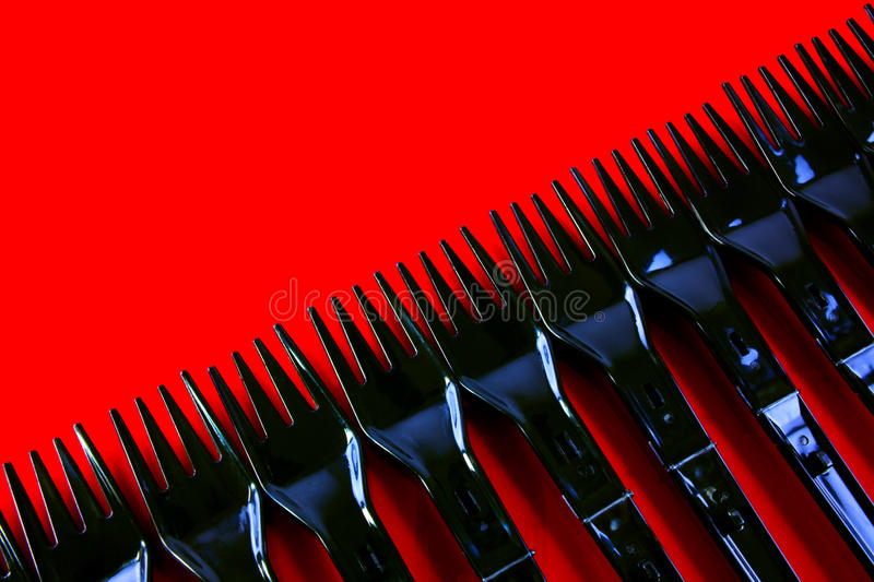 Download Plastic Forks stock photo. Image of up, many, closeup - 27895432