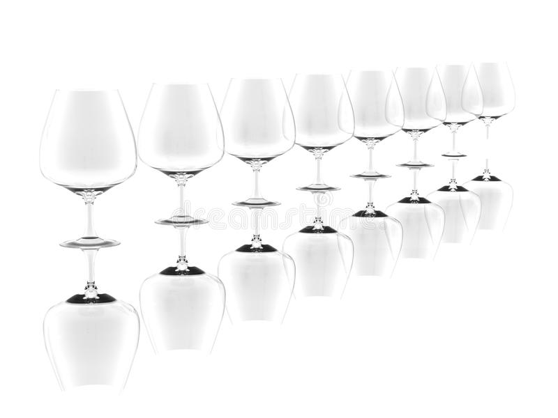 Download Row Of Pure Glass Collection Stock Illustration - Image: 15313084