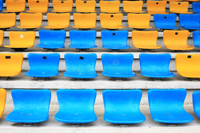 Row seat royalty free stock photography