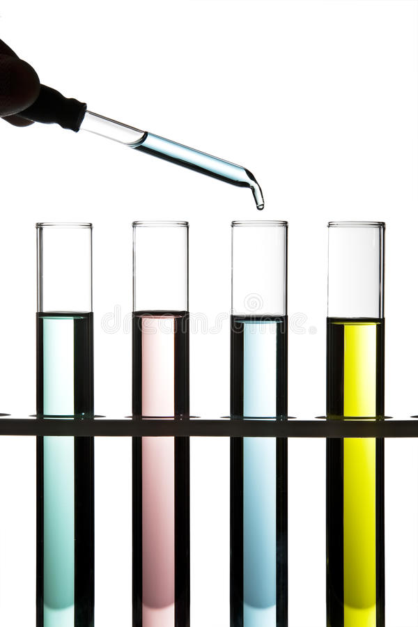 Download Row of test tubes stock image. Image of laboratory, genetic - 16972443