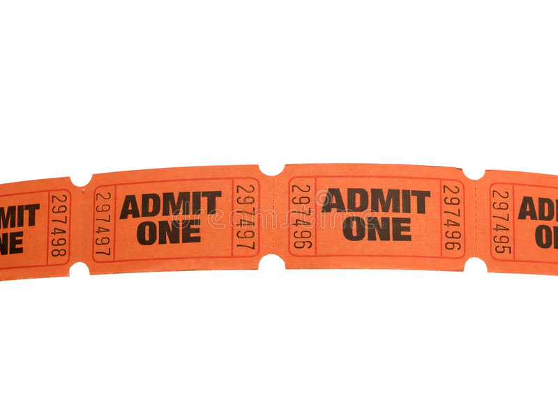 Download Row of tickets stock photo. Image of admission, movie - 2716142
