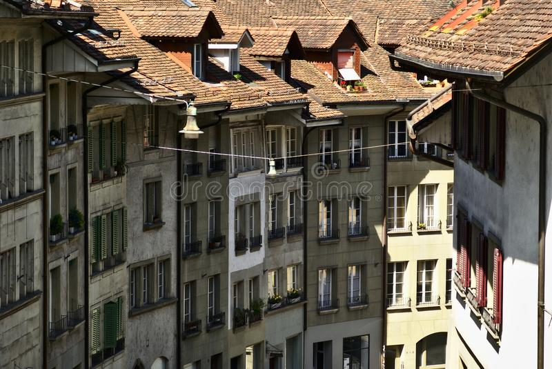 Bern townhouses royalty free stock photo