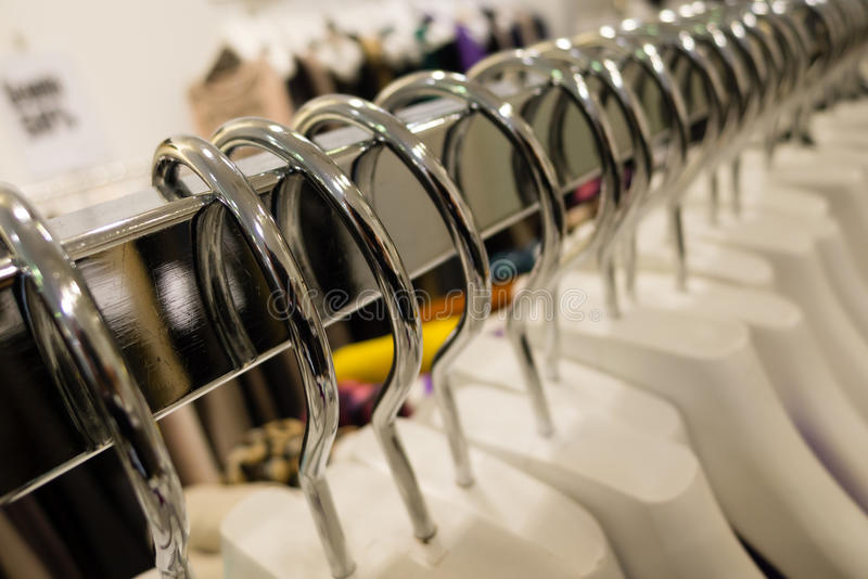 Download Clothes hangers stock image. Image of shape, plastic - 29900707