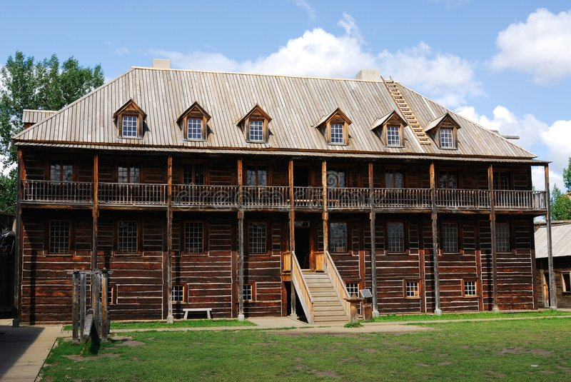 Download Rowand House In Fort Edmonton Park Stock Photo - Image: 5731512