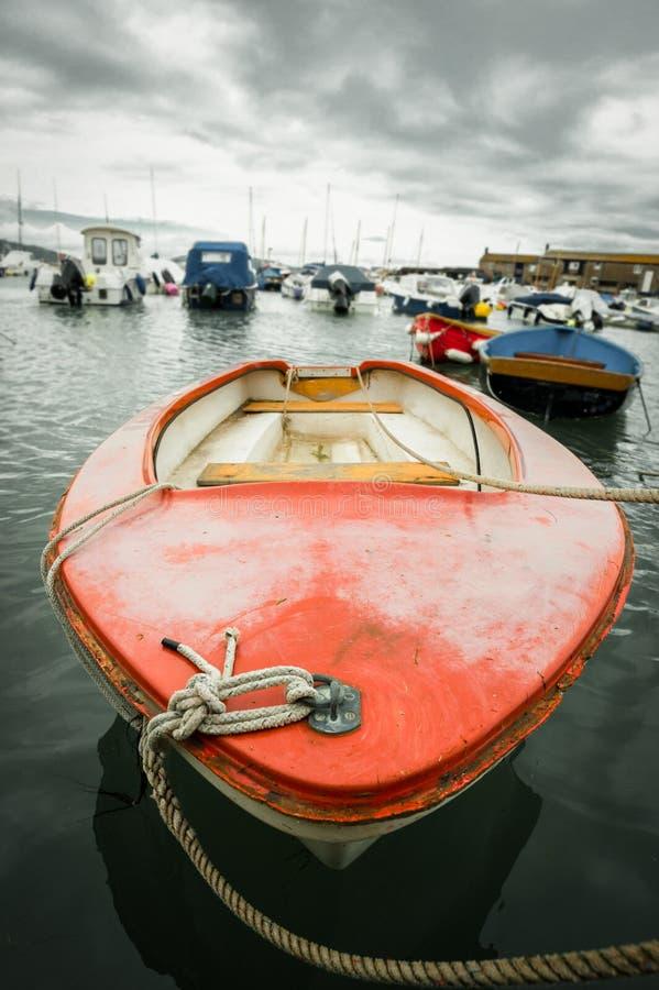 Rowboat fotografie stock