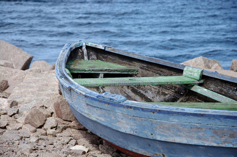Rowboat royalty free stock photos