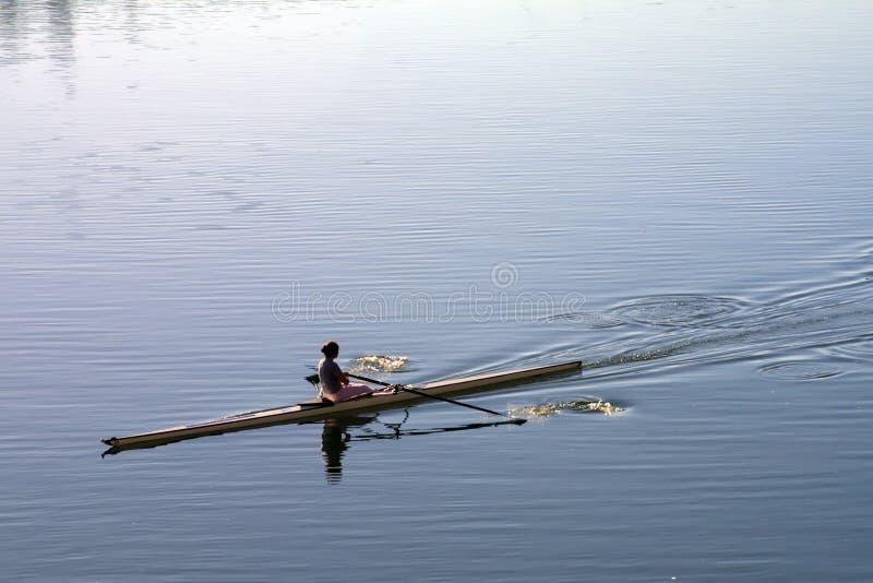rowboat immagini stock