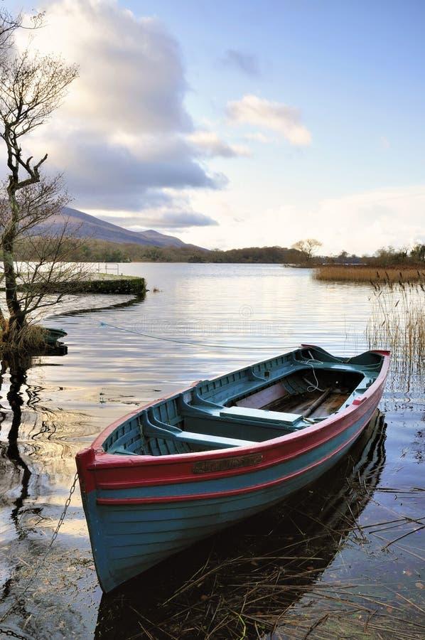 rowboat obrazy royalty free