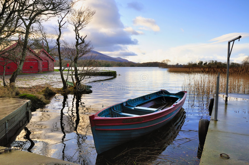 rowboat zdjęcie stock