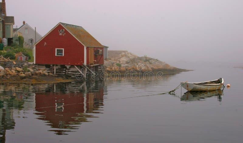 Rowboat, baia della Peggy fotografia stock
