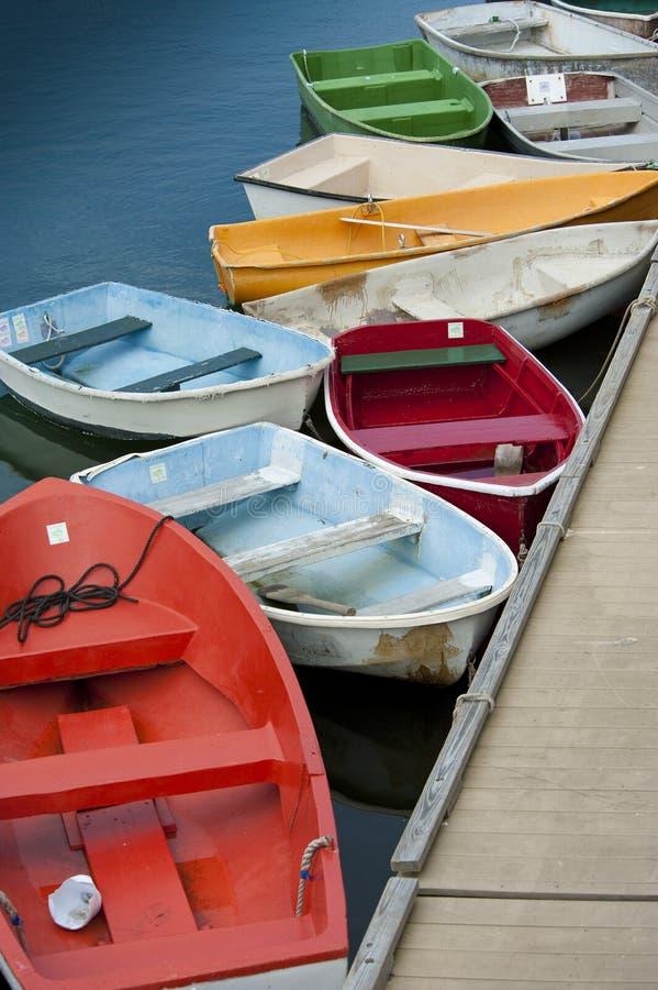 Download Rowboats stock image. Image of dock, rockport, motor - 20954199