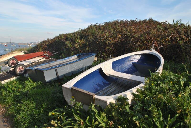 rowboats fotos de stock