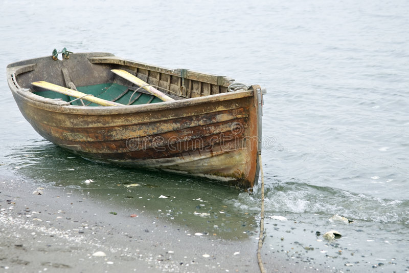 Download Rowed to shore stock image. Image of water, shore, resting - 2470049