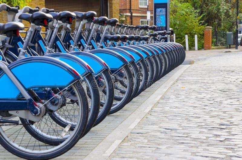 rowerów London czynsz zdjęcia stock