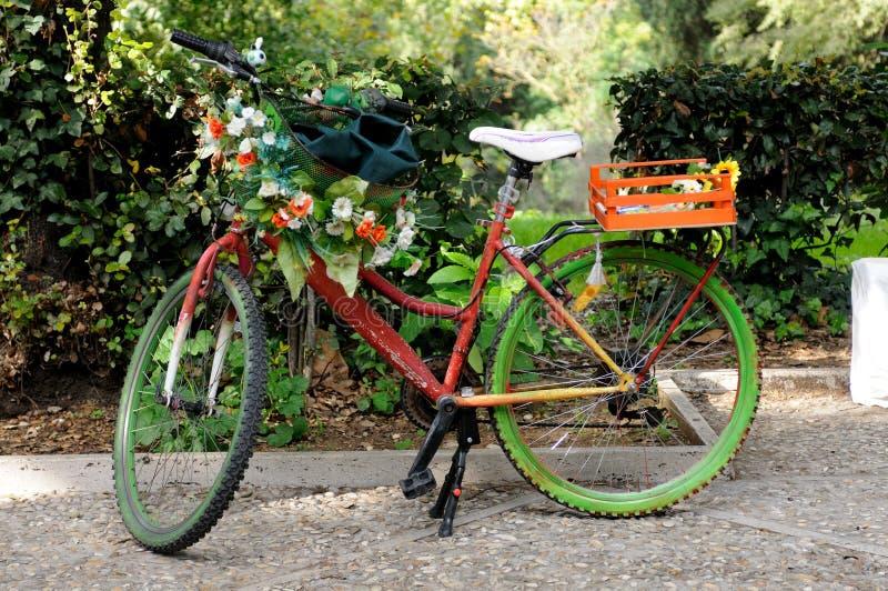 Rower artysta w Rzym, Włochy obrazy royalty free