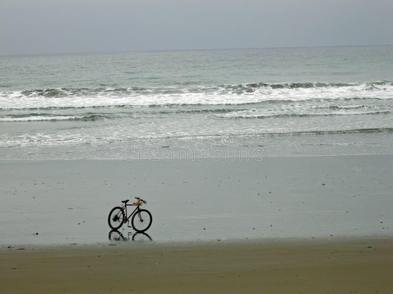 rower Ecuador plaży fotografia stock