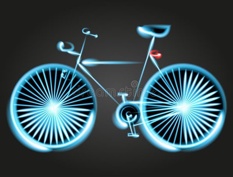 Download Rower Ilustraci Maski Abstrakcjonistyczny Wektorowy Bicykl Ilustracji - Ilustracja złożonej z usta, tło: 53780748