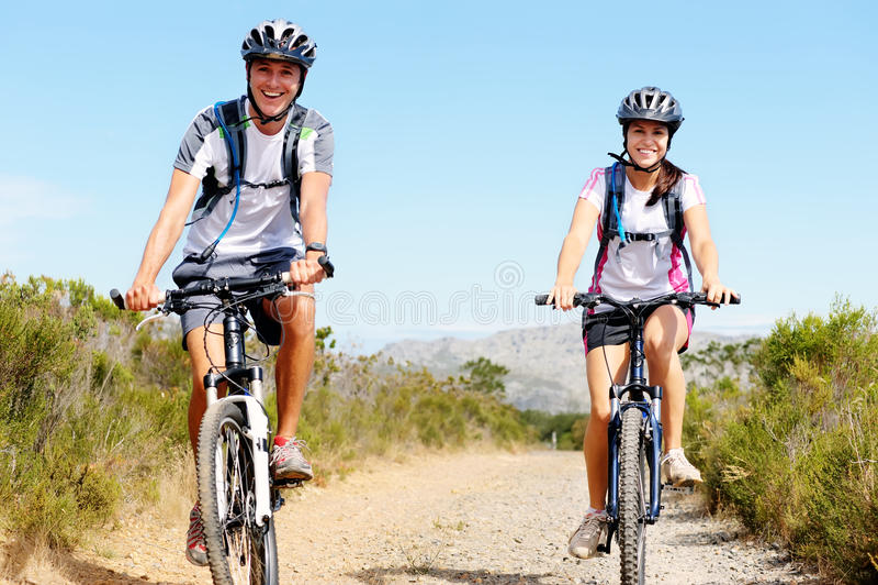 rower para zdjęcie stock