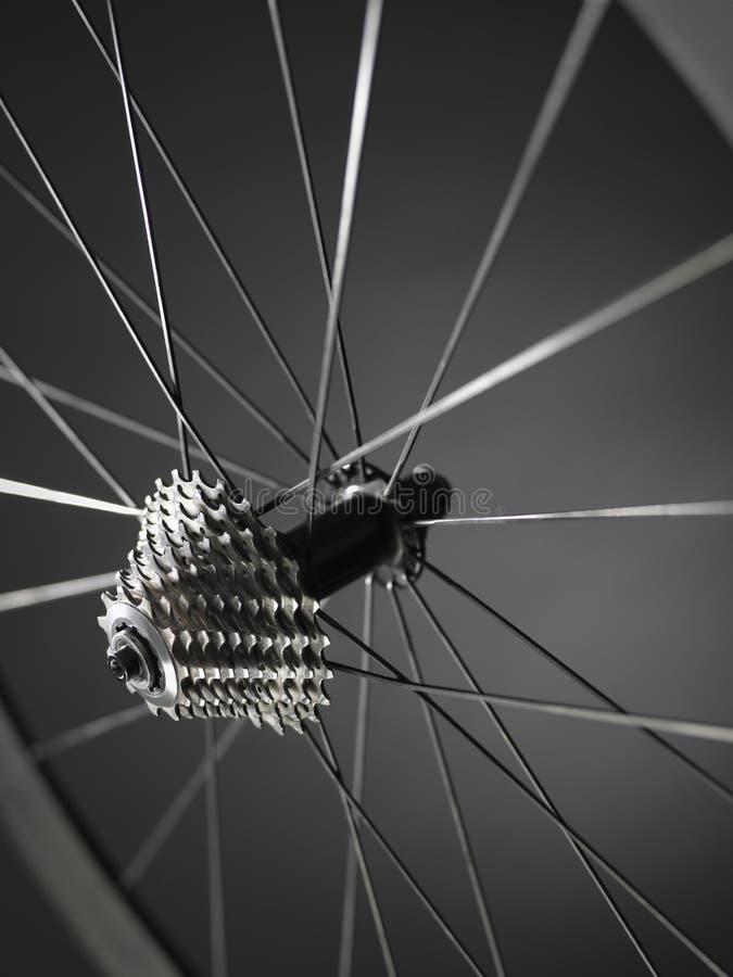 Rower przekładni cogs koło - Akcyjny wizerunek zdjęcie stock