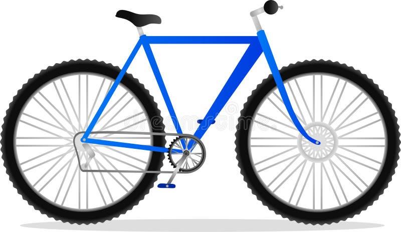 rowerowa góra ilustracja wektor