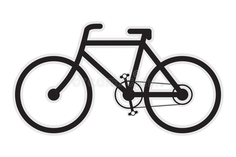rowerowa ikona zdjęcie royalty free
