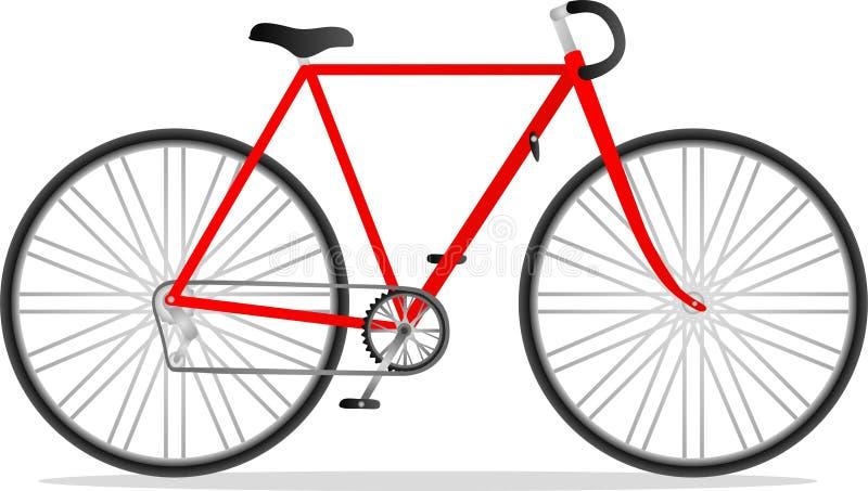 rowerowa rasa ilustracji