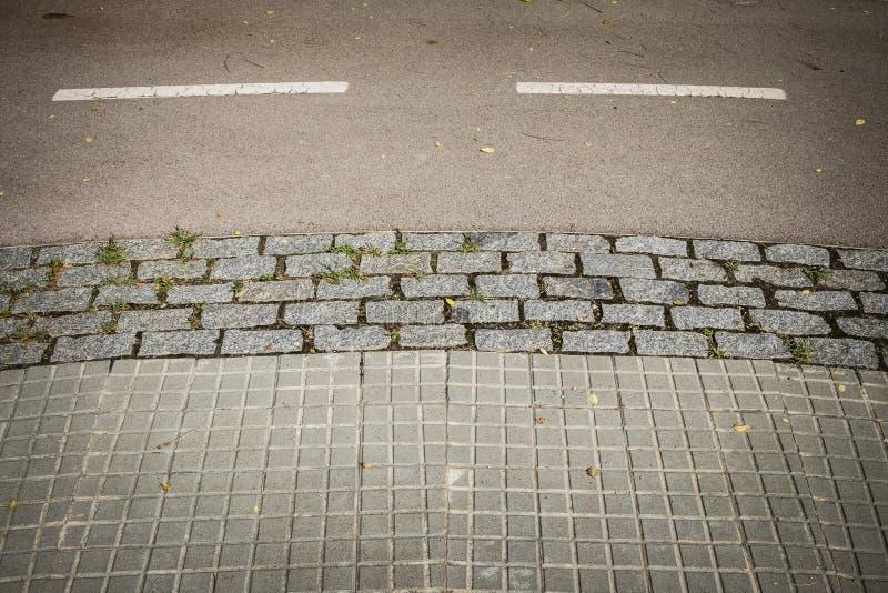 Rowerowa trasa w Sant Cugat Del Valles w Barcelona obrazy royalty free