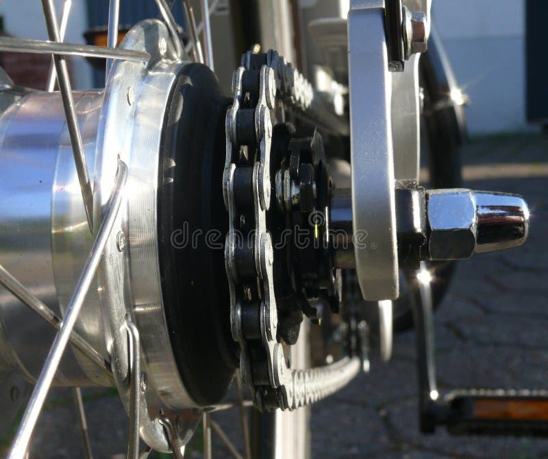 rowerowy łańcuch fotografia stock