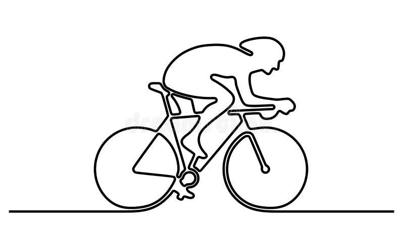 Rowerowy logo ilustracja wektor