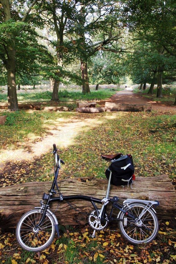 rowerowy park zdjęcia stock
