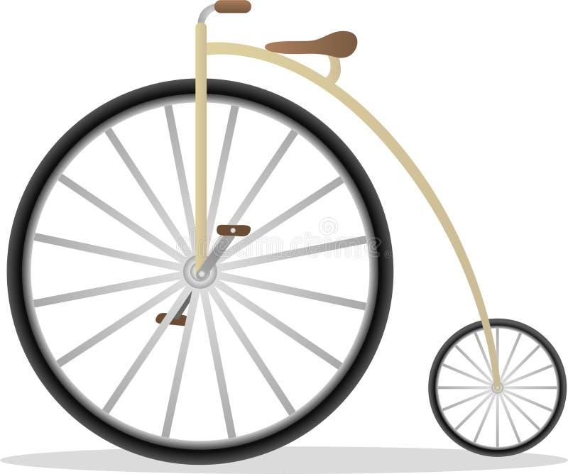 rowerowy retro ilustracja wektor