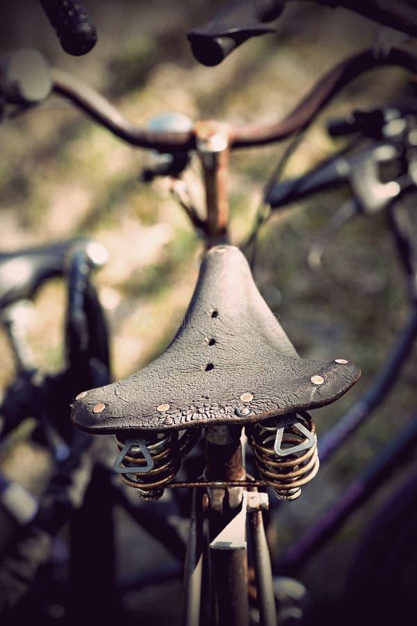 rowerowy siedzenie zdjęcie royalty free