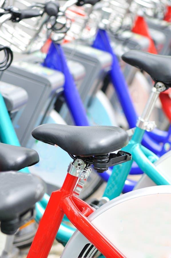 rowerowy siedzenie zdjęcia royalty free