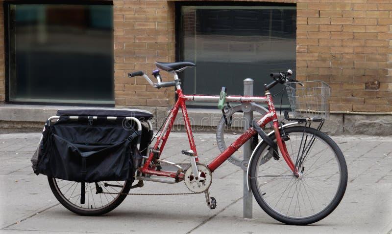 rowerowy stary tandem fotografia royalty free