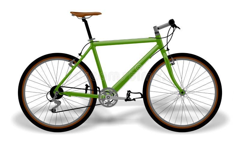 rowerowy wektor ilustracja wektor