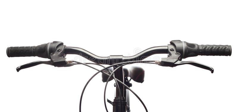 rowerowych handlebars odosobniona góra obrazy royalty free