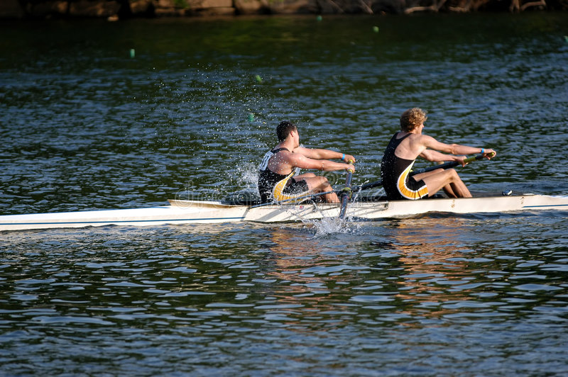 Download Rowers stock image. Image of boat, will, strong, regatta - 178713