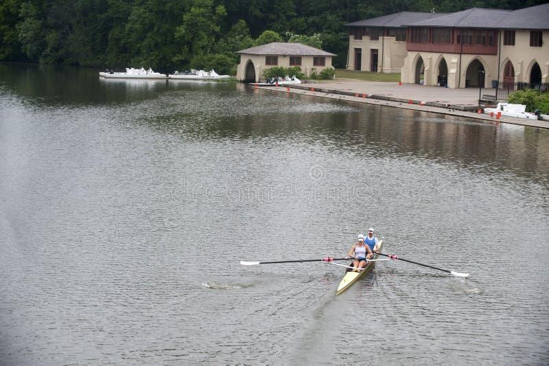 Rowers fotografia stock