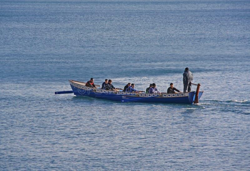 Rowers na rzece obraz royalty free