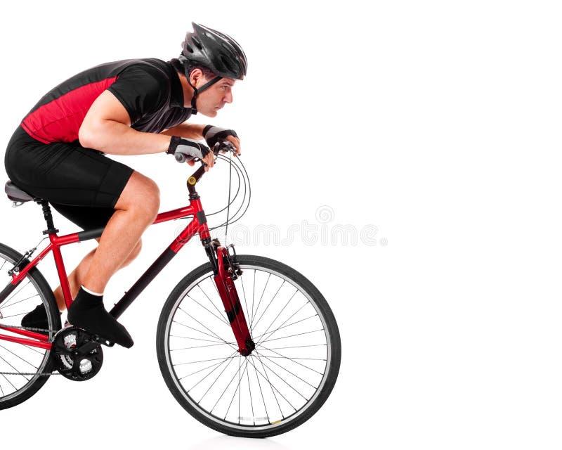 roweru cyklisty jazda obraz royalty free